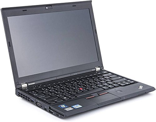 Lenovo ThinkPad X230 12,5 Zoll Intel Core i5 256GB SSD Festplatte 8GB Speicher Win 10 Pro Webcam Bluetooth NZD2EGE Notebook Laptop Ultrabook (Generalüberholt)