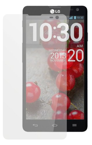 dipos I 2X Schutzfolie matt passend für LG L90 Folie Bildschirmschutzfolie