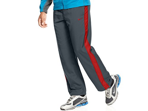 Nike Hose, Team Track Pants anthrazit/Gym Red XL (Pant Track Team)