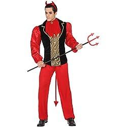 Atosa Disfraz Demonio, Rojo (26488)