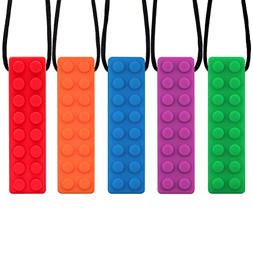 SINBLUE - Collar masticar sensorial – 5 unidades