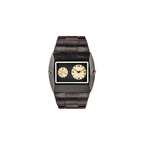 Reloj WeWood Jupiter 70307307000al cuarzo (batería) madera quandrante negro correa madera