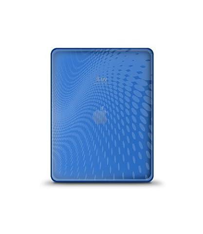 iLuv iCC802 Coque ultra fine décor Vague pour iPad Bleu