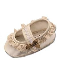 Zapatos festivas para bautizo o una boda - zapatos de bautizo para ni?as, bebés TP01 tama?o 17