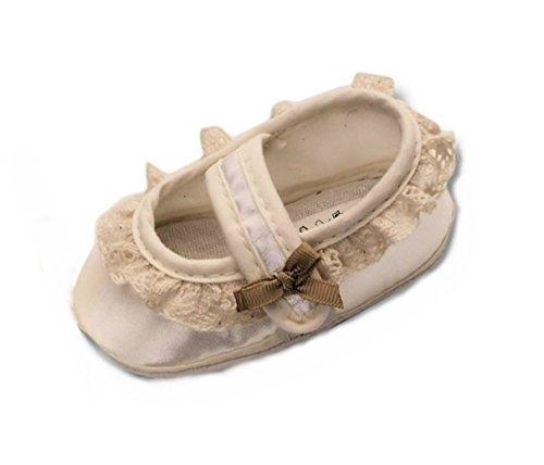 Baby Schuhe für Taufe, Hochzeit und alle anderen Anlässe, Taufschuhe für Mädchen, Tp26 Gr.16