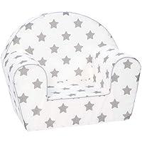KNORRTOYS.COM 68344 Stars Fauteuil pour Enfant Gris