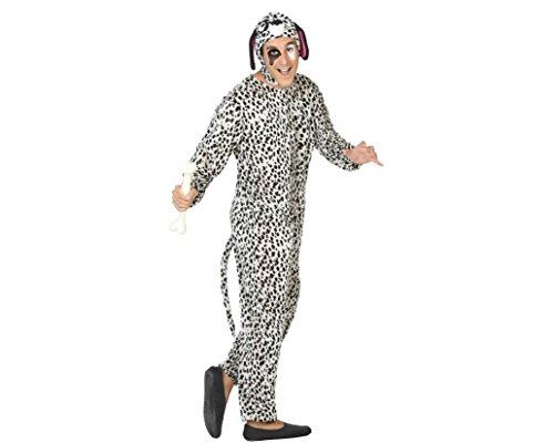 Atosa 15470 - Dalmatiner, Herrenkostüm M-L, (2017 Im Hunde Halloween Kostüme)