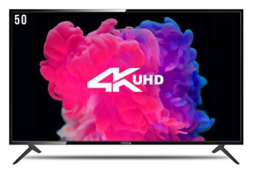 Onida 127 cm (50 inches) 50UIB1 4K LED Smart TV (Black)