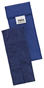 frio: Frio - Bolsa isotérmica para mantener insulina, color azul, 6.5 x 18 cm
