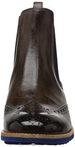 Melvin & Hamilton Amelie 5, Boots fille Gris (Classic Stone Wl Blue)