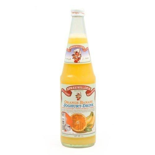 Janks Orange-Banane-Joghurt Drink (0,7 l) -