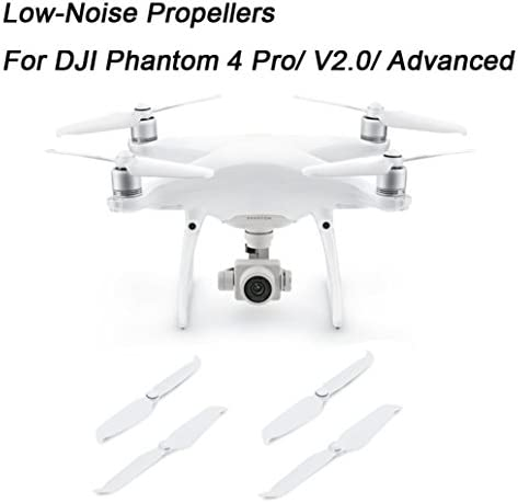 Pour DJI Phantom 4 Pro/V2.0/Advanced, Diadia 4 pcs pour DJI Phantom 4 Pro/V2.0/Advanced faible bruit hélices 9445 Props | De Grandes Variétés
