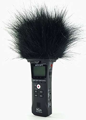 Master Sound ZOOM H1n TOP Model, Professional Three Layers Furry Windscreen with Acoustic Foam Technology for recorder ZOOM H1n.
