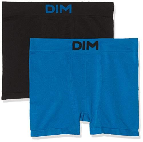 Unno DIM Basic, Bóxer para Hombre, Negro (Azul Océanique/Negro 5WL)