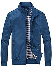 Qmber Herren jacken Sweatjacke Parka Pullover Sweatshirt Outdoor Coat Strickjacke Mäntel Outwear Herbst Winter Wollmantel, Slim Long Trench Reißverschluss