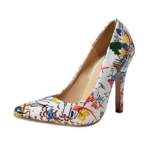 ♦ Vovotrade ♦ Primavera 2019 Scarpe col Tacco Alto da Donna con Tacco a Spillo Wild Pointed Shallow Shoes Elegant Ladies Stiletto Single