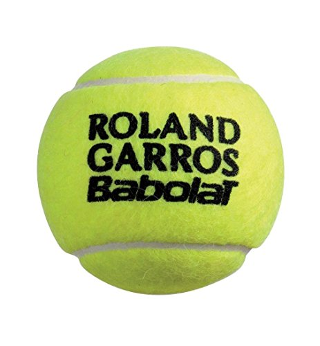 Babolat Tennisball French Open 4-er Pack, Gelb, One Size, 0092260135400000