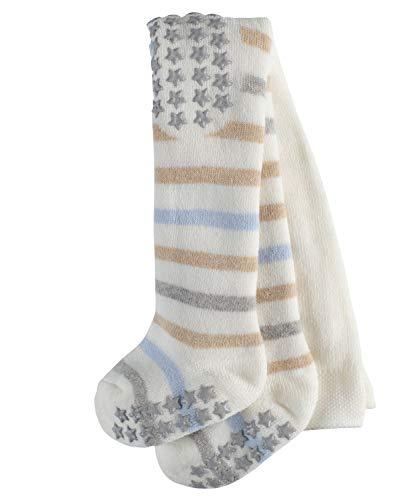 FALKE Unisex Baby Multi Stripe Strumpfhose, Blickdicht, Mehrfarbig (Offwhite 2040), 15 (Herstellergröße: 62-68) -