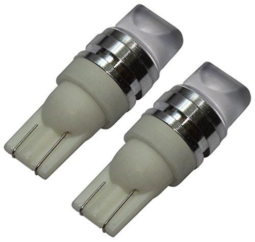 Preisvergleich Produktbild Aerzetix - 2 X LED - Birne Lampen T10 W5W 12V 3LED SMD hololens Weiß Effekt Xenon-Lichtkontrollleuchten Decke im Türschweller -Kartenleser Fußstamm Motorraum Kfz-Kennzeichen