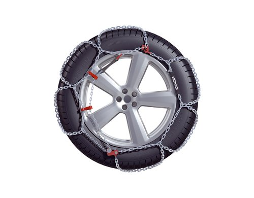 1 Paire Certifi/é T/ÜV 270 Compass Cha/înes /à Neige SUV-Van pour pneus 275//45 R21 Extra r/ésistant 16x27mm