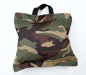 Camera Bean Bag. Compact et léger pour supporter l'équipement de photographie. Ce sac venu pré-rempli avec du polystyrène.