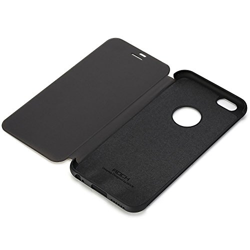 wholesale dealer 3712b 3b8d7 Original ROCK Dr.V Flip Case Cover For Apple iPhone 7 Plus Smart View Touch  Sensible Hard Case