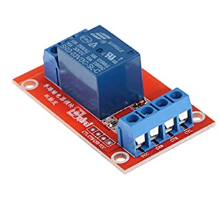 MagiDeal 3v 1CH Channel Relay Module Interface Board with Optocoupler LED 10A