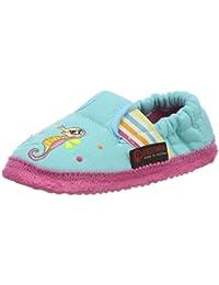 LicoBioline Trendy - Pantuflas con Forro Niñas, Color Turquesa, Talla 31