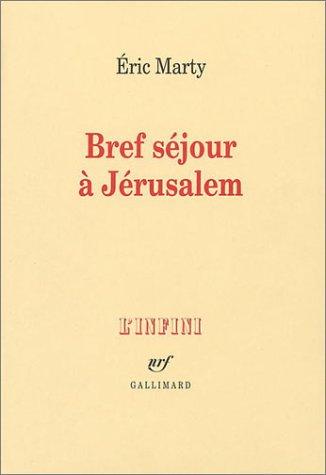 Bref sjour  Jrusalem