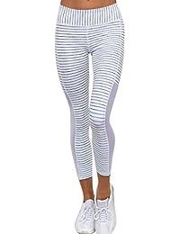 fb7e599378a98 FNKDOR Fashion Style Women Outdoor Exercise Slim High Waist Sports Gym Yoga  Running Fitness Leggings Pants