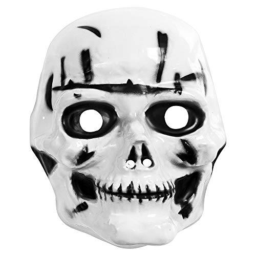 - White Maske Halloween Kostüm Ideen
