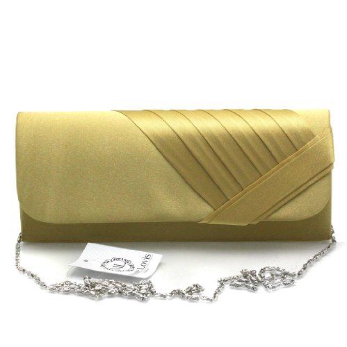 Fashion4Young, Poschette giorno donna (ML816-Gold)