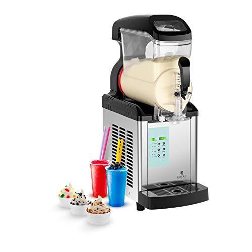 Royal catering granitore sorbettiera macchina per il gelato rcsl 1/6ice (230 v, 600 w, 6 l. r404a, senza bpa)