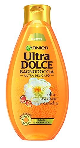Ultra Dolce Olio d'Argan e di Camelia Bagnodoccia Satinante Pelle Setosa e Morbida, 500 ml