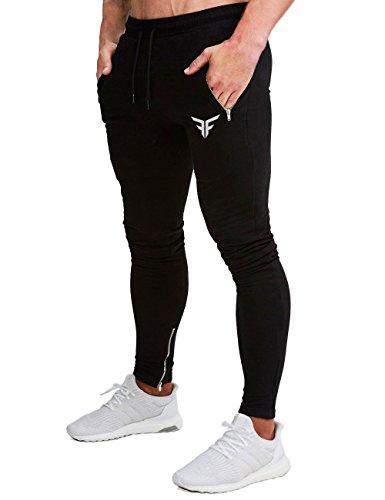 FLYFIREFLY Pantalones de Gimnasio para Hombre
