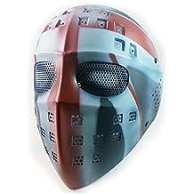 WorldShopping4U Tactique Airsoft Paintball Hockey Type Full Face Protection  en Maille Masque de Masque 9d278da09eec