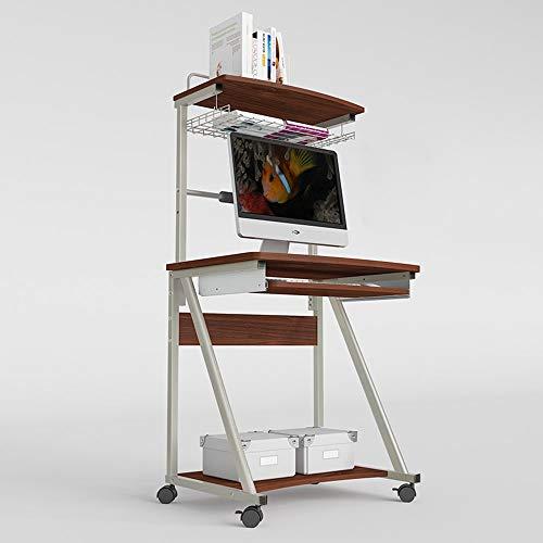 Dianz Accueil/Meubles/Table Wandhalterung Computertisch Schreibtisch mit Hutch-Arbeitsstation im modernen Stil Schreibtisch für Zuhause oder Büro Klapptisch,A,Mit Tastaturunterstützung