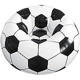 Fauteuil Ballon de Foot Gonflable pour la Maison ou le Jardin - Se Range Facilement une Fois Dégonflé - Une Idée de Cadeau Original pour les Passionnés de Foot