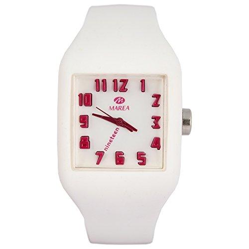 Marea Nineteen Unisex color M silicone orologio da polso in 3d effetto...