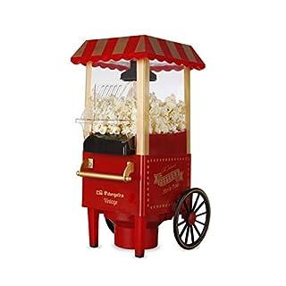 Orbegozo PA 5000 Popcornmaschine, Vintage-Stil, Rot