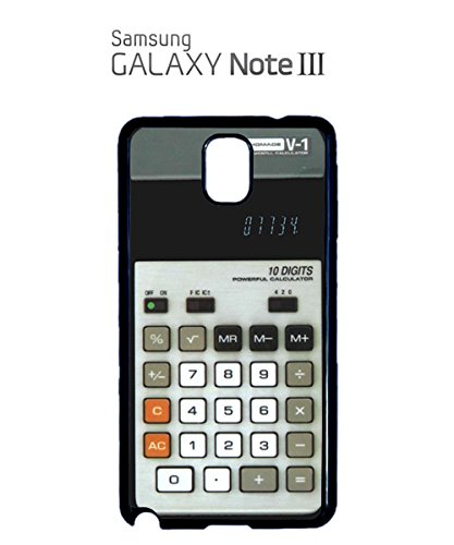Calculator Retro Vintage 70s' 80s' 90s' Mobile Phone Case Samsung Galaxy S3 Black Noir