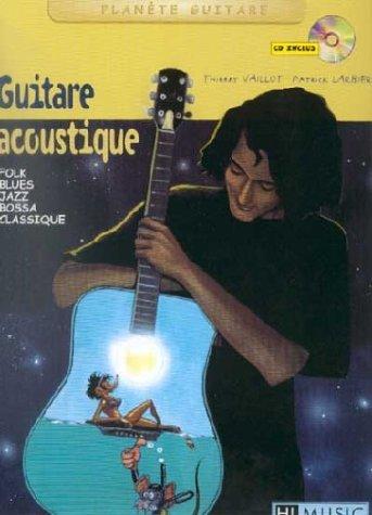 Partition : Guitare acoustique - Partition + CD