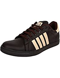 100% Genuine Synthetic Sneakers For Men And Boys In Brown Color By Mose