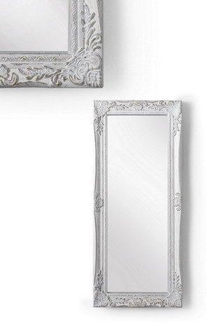 MONTEMAGGI Specchio da parete con cornice rettangolare in legno ...