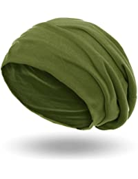 style3 Bonnet unisexe « Slouch Beanie » en jersey respirant, fin et léger