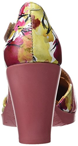 ART Damen 0278 Fantasy Rio Closed-Toe Sandalen Mehrfarbig (Flowers)