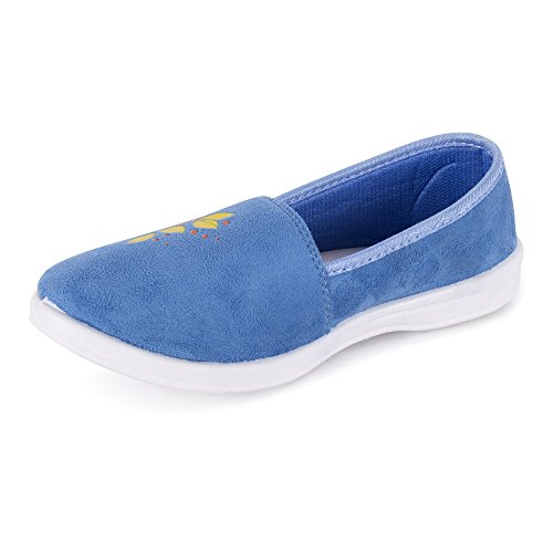 Action Shoes Women's Blue Safety Shoes - 5 UK/India (37 EU)(BN-524-BLUE)  available at amazon for Rs.269