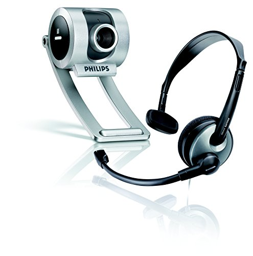 Philips - Webcam (640 x 480 Pixeles, 30 pps, 24 bit, 10...