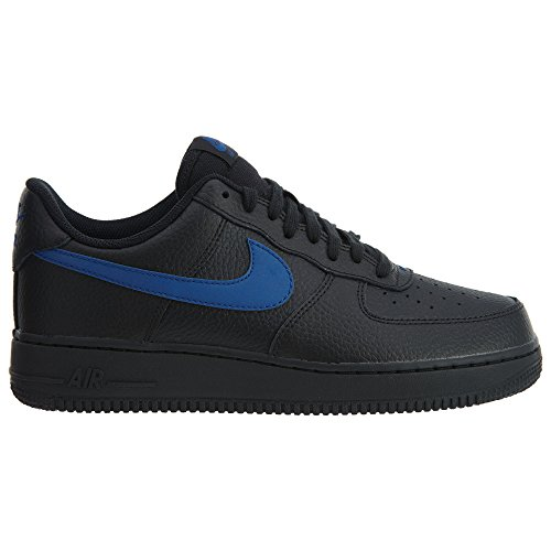 Nike Air Force 1 07 Schwarz Aa4083-003 Black-gym Blue (aa4083-003)