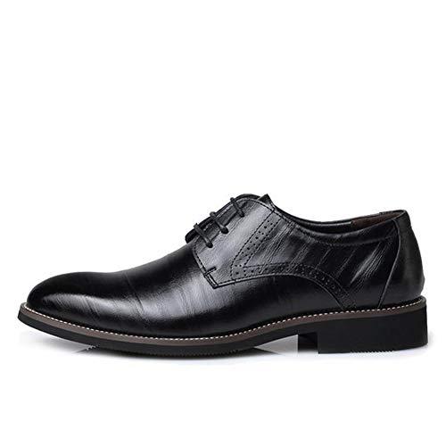 Kostüm Milano - Feidaeu Herren Business Schuhe für Herren Ledermode Flache Schuhe mit flachen Punkt städtischen Arbeitsschuhe